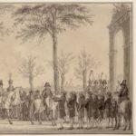 oktober 1811 Vinkeles, R. aankomst Keizer Napoleon in Amsterdam