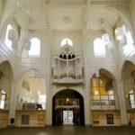 Voor renovatie van de Amstelkerk in 2020.