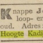 De Courant, 1906