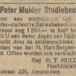 De Tijd, 1927.