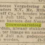 Het nieuws van de dag, (1931)