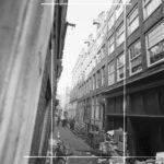 7 1962 inkoop van lompen, textiel en oud papier bij koestraat 13.