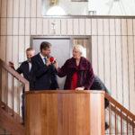 Wethouder en gedeputeerde tijdens de opening, Lieke Romeijn
