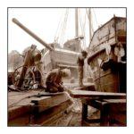 Kromhoutwerf in bedrijf. Foto: Normafotografia (1991)
