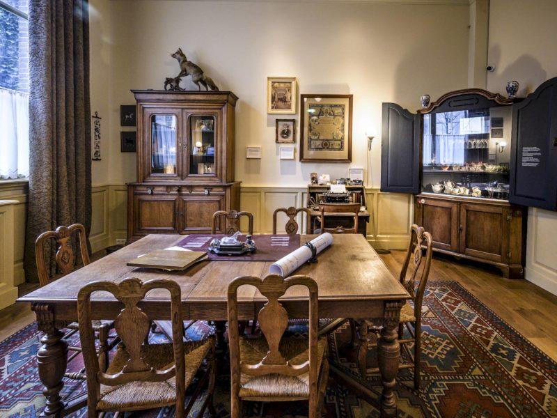 Kamer van de directeur. Foto: Jan Reinier van der Vliet. (2021)