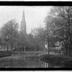 Onze Vondelkerk aan het Vondelpark. Foto: Jacob Olie (1897)