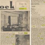 Artikel over molen De Slokop. Volkskrant (1960)
