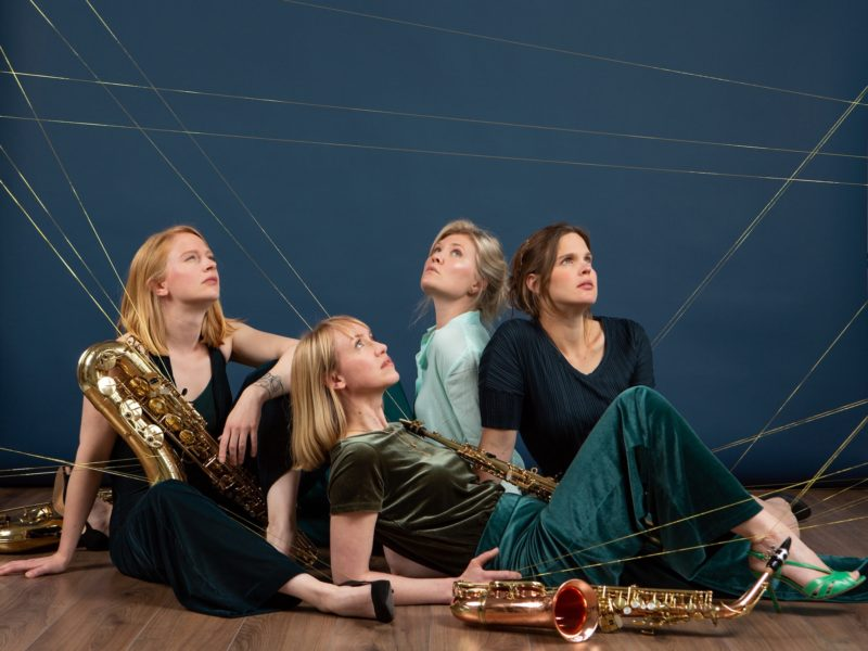 Syrène Saxophone quartet. Photo by Heidi de Gier - Copyright © Heidi de Gier