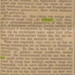 Beschrijving van een oefening in de Stelling van Amsterdam. Alg. Handelsblad 25-09-1903.