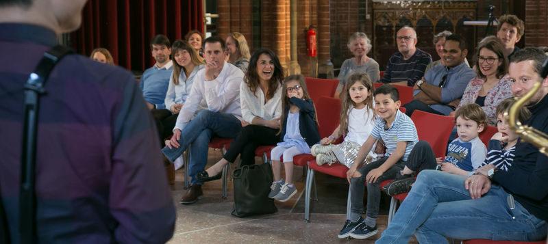Foto: Wouter van der Wolk / Ardemus Quartet in de Vondelkerk