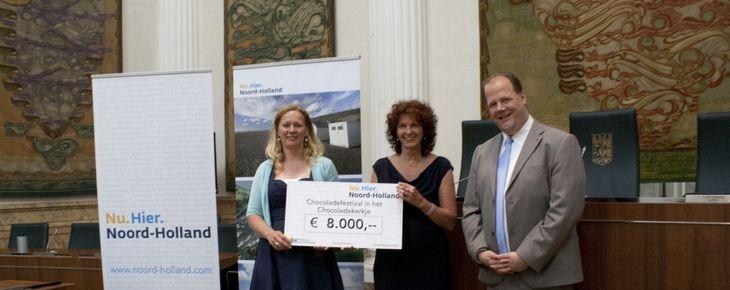 8000 euro voor Chocoladefestival