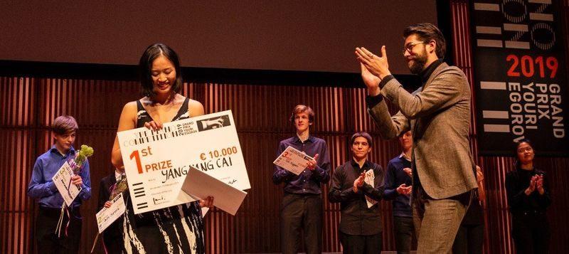 De YPF Prijswinnaar 2019 is bekend: Yang Yang Cai (Foto: Foppe Schut)