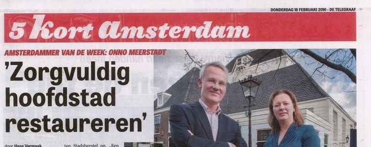 Amsterdammer van de week: Onno Meerstadt
