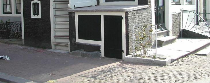 De Amsterdamse stoep van Brouwersgracht 86