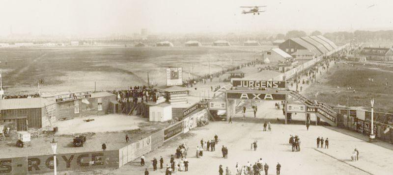 Een vliegveld in Amsterdam Noord