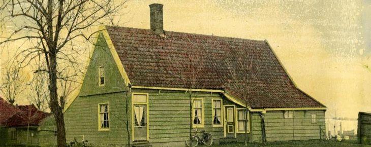 Eerste paal Zaans Huisje (dat gaat verhuizen)