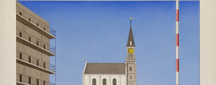 Expositie Marinus Fuit en Cyril Lixenberg Amstelkerk