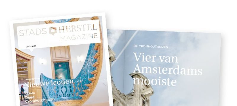 Genieten van iconen in nieuw Stadsherstel Magazine