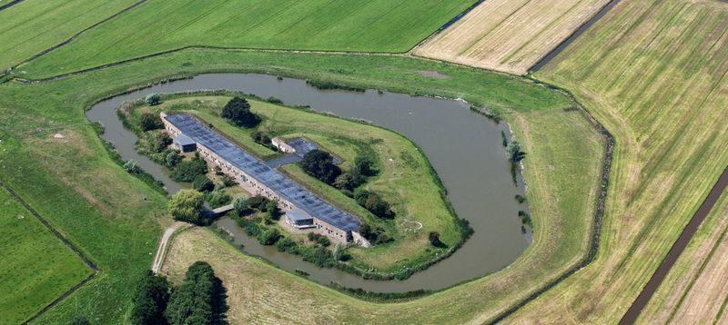 Kijk als eerste in nieuw bezoekerscentrum Fort bij Krommeniedijk