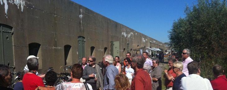 Fort St. Aagtendijk druk bezocht