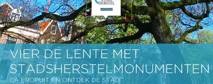 Nieuwsbrief april: vier de lente met Stadsherstel monumenten