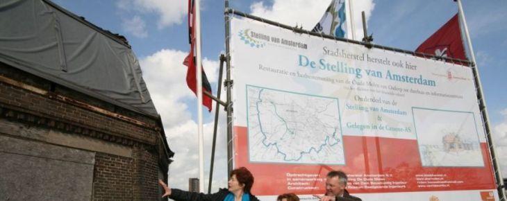 Officiële start restauratie De Oude Molen van Osdorp