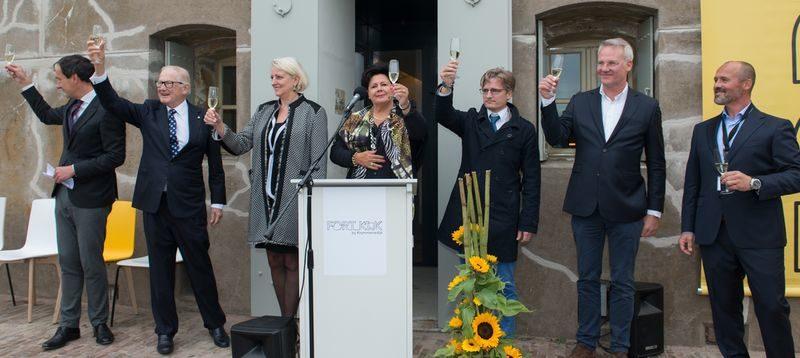 Paradijs in de polder: Fort K'IJK feestelijk geopend