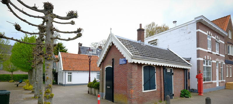 Sla, fietsers en het kleinste Politiebureautje van Nederland