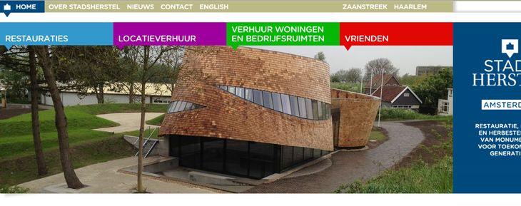 Stadsherstel.nl heeft een nieuw gezicht