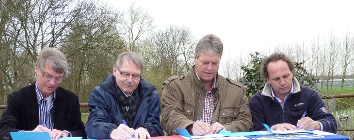 Stadsherstel tekent intentieverklaring herontwikkeling Fort bij Aalsmeer