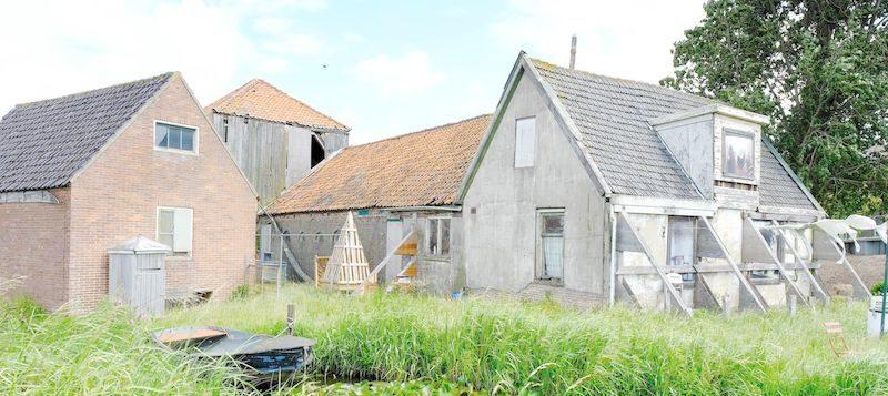 Start eerste werkzaamheden restauratie Fronikboerderij