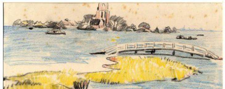Tekening van Ransdorp (Martin Monnickendam)