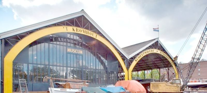 Nederland, Amsterdam, 16 mei 2012Werf, 't Kromhout, Kromhout, Stadsherstel, museum, scheepswerfFoto: Thomas Schlijper - Copyright Thomas Schlijper