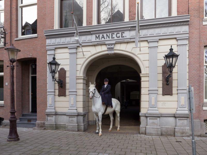 Hollandsche Manege, ingang Vondelstraat,Sjors Van Dam-2018