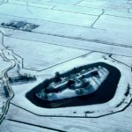Fort Krommeniedijk Luchtfoto Winter
