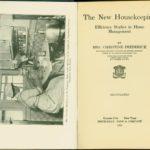 Boek over efficiente huishouding van de Amerikaanse Christine Frederic