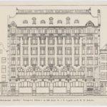 1912 Hotel Schiller aan het Rembrandtplein