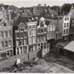 Leeg terrein Tbv Parkeergarage Kras, foto 1958 Arsath Ro Is, J.m.