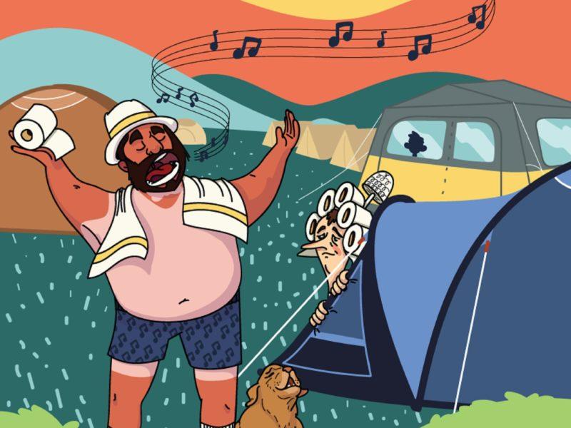 Agenda Camping Pavarotti Mark Van Vliet