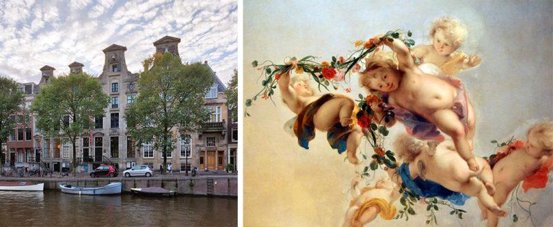 Lente in Stadsherstelmonumenten: Herengracht 366