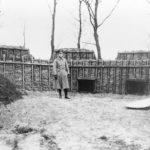 Fort Diemerdam mitrailleur opstelling. Foto: collectie René Ros.