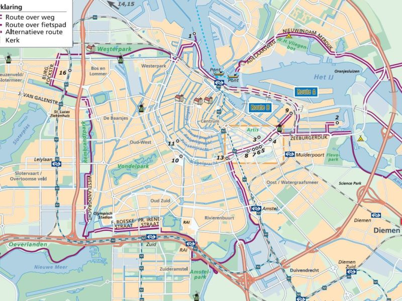Fortenfietsroute