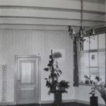 De voormalige woonsituatie in de koepel. Bron: ELO, foto E.J. Veldhuyzen.