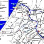 Nummer 17 is de Haagsche Schouw; rechtsonder in rood De Vink. Welgelegen ligt hier tussenin aan de overzijde van het water, ongeveer ter hoogte van de 'M' van Hoge Morsweg. Bron: website mei1940.nl