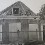 Boerderij Welgelegen nu Engelbertha hoeve - Totaal vervallen koepel in 1980. Bron: ELO
