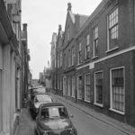 Hagestraat, de muur is nu verdwenen (1978)
