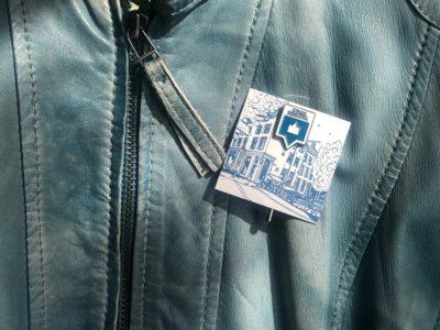 Stadsherstel pin