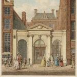 1790 1795 Kind met valhelm bij moeder met gele jurk Schouten, H. P. (Herman, 1747-1822).