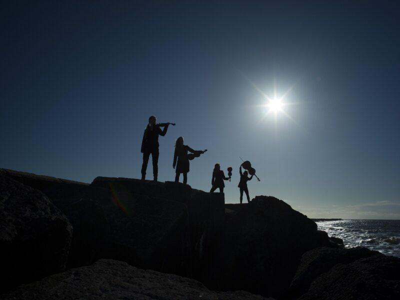 Nederland, Wijk aan Zee, 07 mei 2021Dudok String QuartetFoto: Merlijn DoomernikAlle rechten voorbehouden / All rights reserved - Copyright Merlijn Doomernik