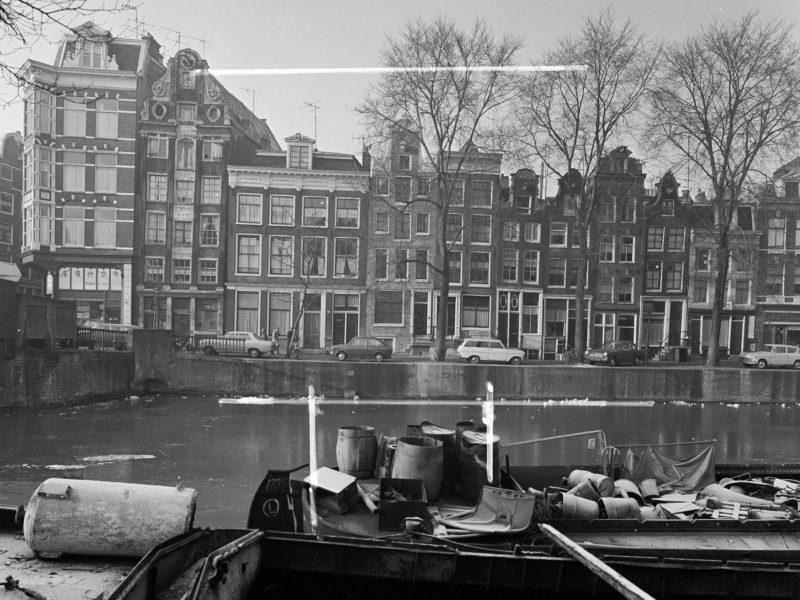 Geldersekade 62-84 in 1953 Foto: C.P. Schaap, Stadsarchief Amsterdam